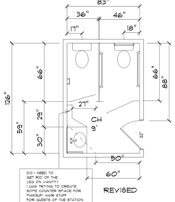 I'm renovating my office, does the existing bathroom need ...